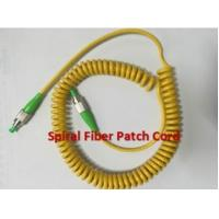 Buy Simplex Multimode OM2 PU Spiral Fiber Optic Patch Cord LC - SC 50 / 125 at wholesale prices