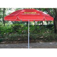 Quality OEM Outdoor Advertising Umbrellas Polyester / Oxford Fabric Umbrellas for sale