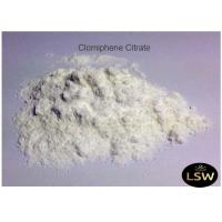 Quality Clomiphene Citrate White Powder CAS 50-41-9 Anti - Estrogen Steroid 99% Purity for sale