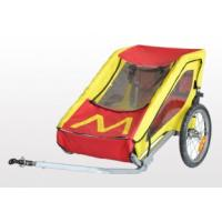 Buy Streamline design Single Child Bike Trailer With Silver Powder Coating at wholesale prices