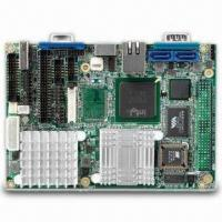 Quality 3.5-inch Embedded SBC with Intel ULV Celeron M Processor and Intel 852GM Chipset for sale
