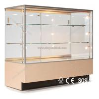 Quality High end jewelry display cabinet with lights for jewelry store for sale