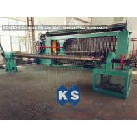 Quality Hexagonal Wire Mesh Machine Woven Wire Mesh Machinery With 95% Aluminium Alloy Wire for sale