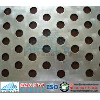 Quality Round Hole Perforated Metal Sheets, Round Hole Pattern Perforated Mesh for sale