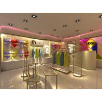 Quality Metal Retail Garment Shop Fittings Modern Style Customized With Promotion Shelf for sale