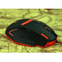 Quality Custom Bright Led Wired Gaming Mouse 6D Ultra Precise Scroll Wheel for sale