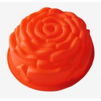 Quality fondant rose Silicone Cake Moulds baking pan chef tools for promotion gift for sale
