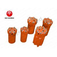 Quality Alloy Steel Mining Carbide Button Bits , Hardest Drill Bits High Efficiency for sale