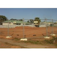 Quality OD 40mm x 1.6mm wall thickness temporary fencing panels Mesh 60mm x 150mm diameter for sale