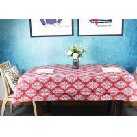 Quality Wooden Pulp Environmental Paper Tablecloth Customized Designs for sale