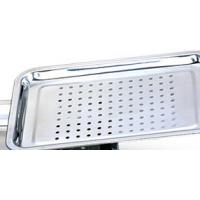 Quality High Temperature Resistant Stainless Steel Mesh Tray / Food Punching Tray With Healthly for sale