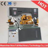 Quality Q35Y Universal Hydraulic Iron Worker, with multifunctional: punching, bending, cutting, shearing & notching machine for sale