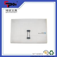 Buy Stationery PP File Case With Elastic Customized Folder Case at wholesale prices
