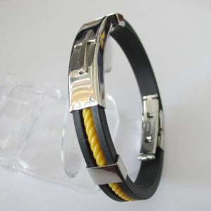 Quality Magnetic Rubber Bracelets for Men for sale