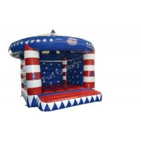 China Rent Inflatable Bounce House Moonwalk With Fire Retardant 0.55mm PVC Tarpaulin on sale