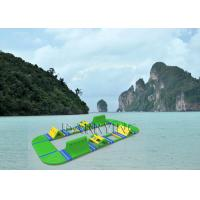 China Island Inflatable Water Park , Fantastic amusement parks For Commercial Event on sale