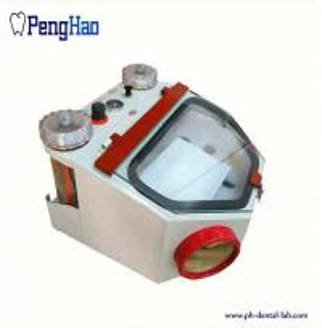 China 4KG/CM Pressure Dental Laboratory Instruments Fine Blasting Unit With Two Pencil on sale