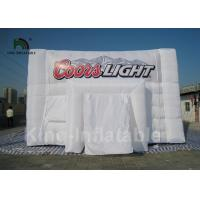 Buy cheap PVC Tarpaulin White Inflatable Wedding Party Tent Rectangle Shape 39.4ft * 19 from wholesalers