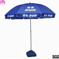 Quality Outdoor Advertising Umbrella Beach Umbrella With Business Logo Prints for sale