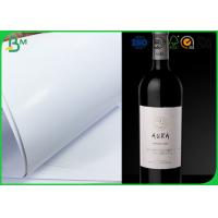 Quality High Whiteness Jumbo Roll Paper Smooth Surface 80gsm 85gsm 90gsm For Wine Labels for sale
