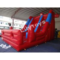 Buy cheap 9*5*6m Top quality inflatable spider man Inflatable Slide Rental ,giant spider man slide forInflatable Slide Rental from wholesalers
