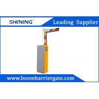 Automatic Parking Lot Boom Barrier Gate Easy Open With 6m Boom Folding Arm