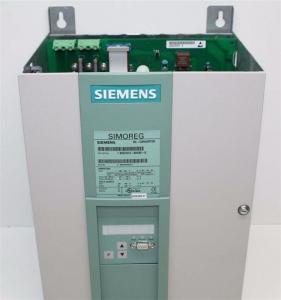 Quality SIEMENS SIMOREG 6RA70 DC Drives 6RA7075-6DS22-0 for sale