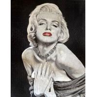 Quality Handmade Marilyn Monroe Mosaic Art Patterns Glass Mosaic Tile Art Mirror For Wall Painting for sale