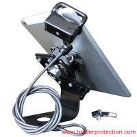 Quality COMER Flexible Tablet Mechanical Security with high anti-grab feature display stand for tablet stores for sale