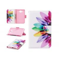 Quality Sunflower Tpu / PU Custom Made Phone Cases Mixed Color With Multi Function for sale