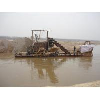 Quality Lake Reclamation Bucket Chain Dredger Sand - Excavating 1-25m Depth for sale