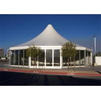 Quality 15m Diameter Glass Wall Marquee Tents Multi - Sided Meeting WIth Table Chairs for sale