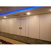 Melamine fabric surface acoustic commercial folding for Retractable walls commercial