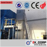 Quality Industrial mining ore bucket elevator in cement plant for bulk material for sale