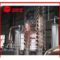 Quality Micro Copper Distillation Equipment For Low / High Alcohol Concentration for sale