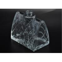 Quality Empty glass perfume bottles / creative clear glass spray perfume bottles most beautiful for sale