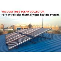 Quality Convenient Heat Pipe Evacuated Tube Solar Collectors Simple Installation for sale