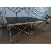 Quality Aluminum Folding Movable Stage Platform with 18mm thickness Anti-slip Plywood for sale