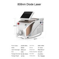 Quality 20 million shots 808 nm portable diode laser hair removal machine price for sale