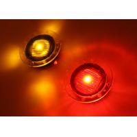 Quality 360 Degree Visible Inpavement Solar Powered Road Markers , Strong Polycarbonate Shell High Intensity LED for sale