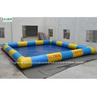 China Big Inflatable Water Pools / Kids Large Inflatable Swimming Pool Custom Made on sale