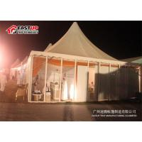 Buy Circular Tower Shape Large Party Tent With Rain - Proof Sidewalls UV Resistance at wholesale prices