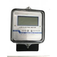 Quality Smart LCD Single Phase Power Meter With 50Hz/60Hz Reference Frequency for sale