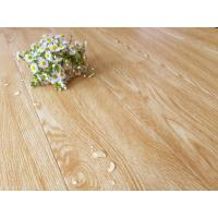Quality Bamboo Fiber Wooden Style Floor Tiles Moisture Proof Light Yellow Wood Grain for sale