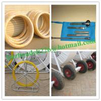 Quality Fiberglass duct rodder,Tracing Duct Rods,frp duct rod,Fiberglass Fish Tapes,Cable tiger for sale