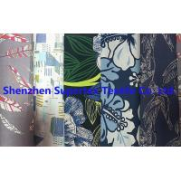 Quality Poplin Reactive Print Garment Custom Cotton Fabric 40S 118GSM 147CM for sale