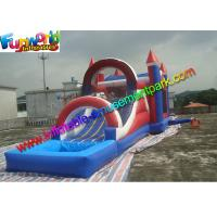Quality Factory Price inflatable bouncer slide PVC Tarpualin , Water - Proof Kids Bounce Combo for sale