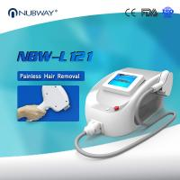 Quality Newest product painfree 808nm diode laser hair removal machine with 10 Germany laser bars 12*20 biggest light spot for sale