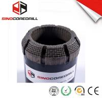 Quality Face Discharge Step Natural Diamond Core Bit HQ3 Surface Set Drill Bits for sale