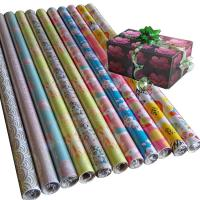 Quality 30inch x 120inch  80gsm coated paper custom printed gift wrapping paper wholesale for sale